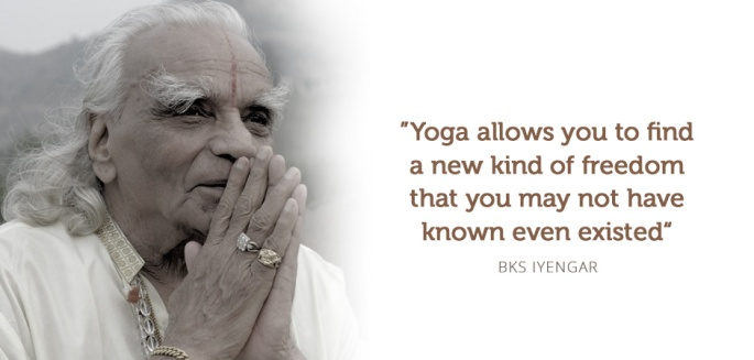 citation BKS iyengar ecole saint germain en laye